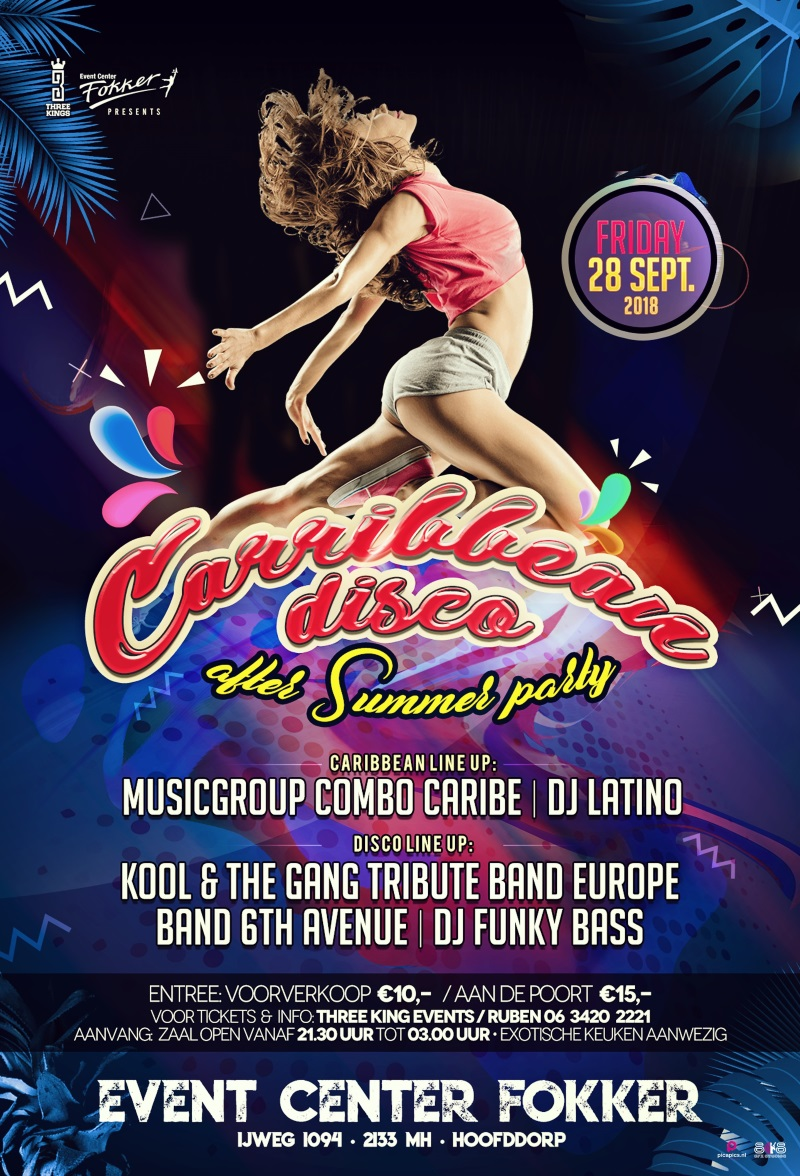 CARIBBEAN DISCO AFTER SUMMER PARTY (second edition)