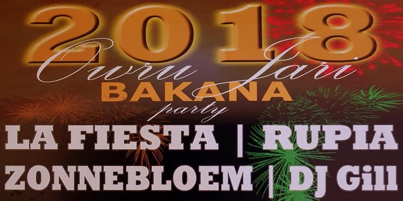 Elegancia Bakkana Owru Yari Party 2018 (Oudjaars Middag Party)