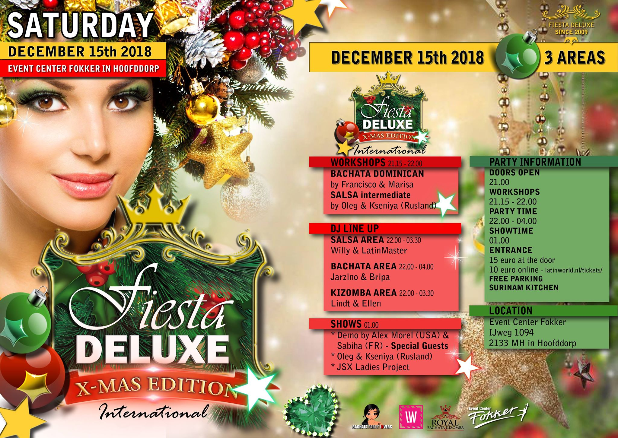 Fiesta Deluxe – XMas Edition International (3 AREAS)