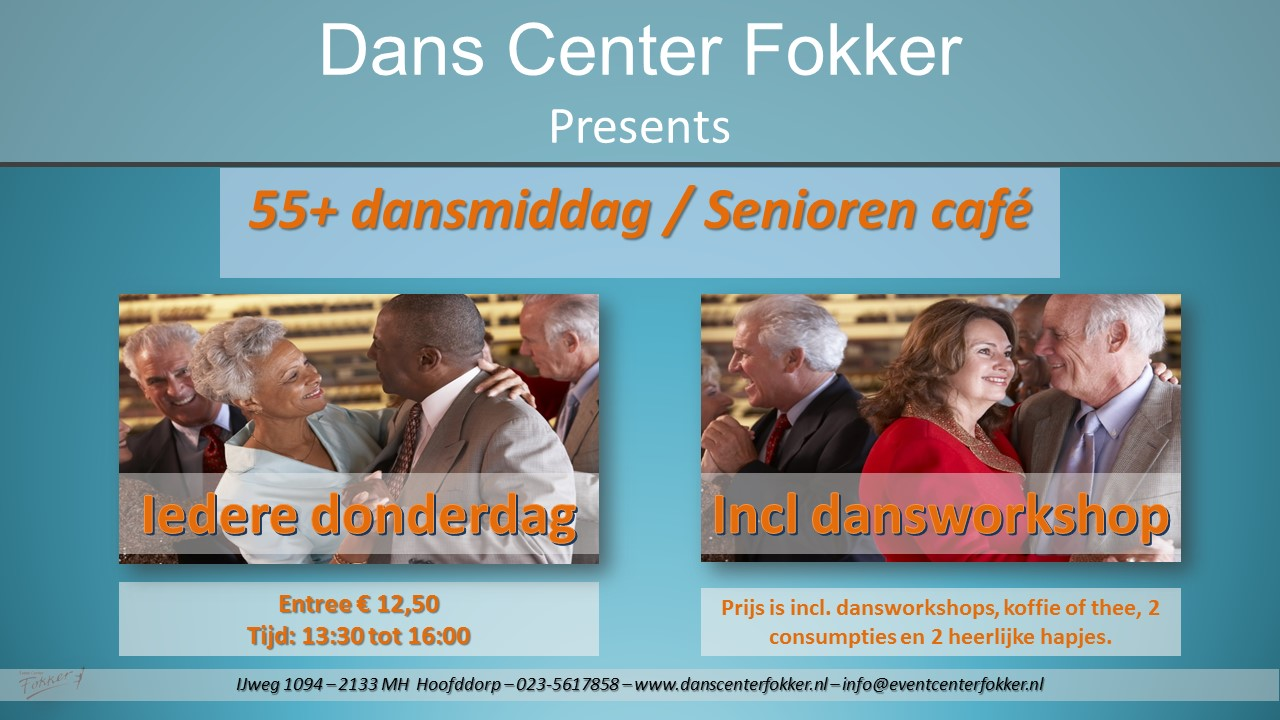 Senioren danscafé