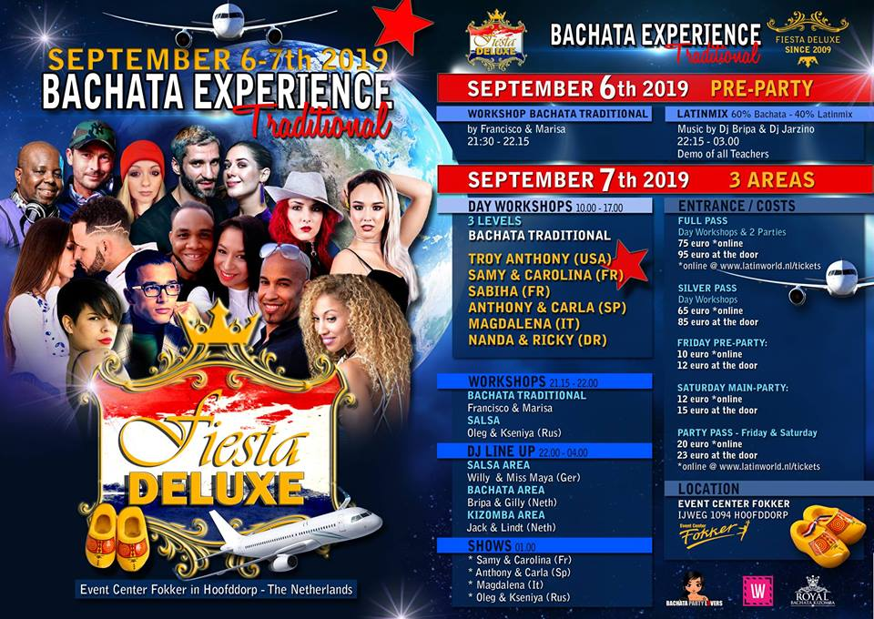 Fiesta Deluxe – Bachata Experience Traditional 2019