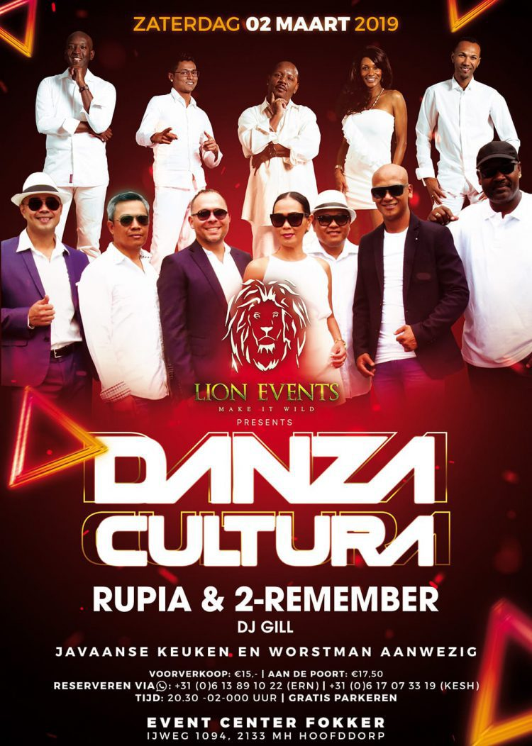 Danza Cultura met Rupia & 2-Remember