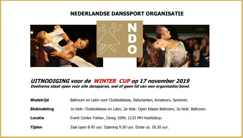 WINTER CUP NDO