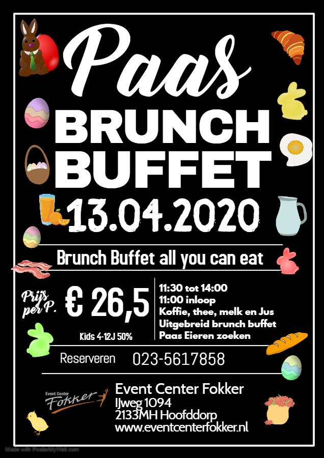 Paas brunch buffet 2de paasdag