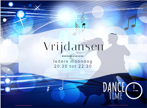 Oefenavond Dans Center Fokker *vrijdansen*
