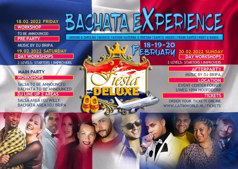 FIESTA DELUXE – BACHATA EXPERIENCE