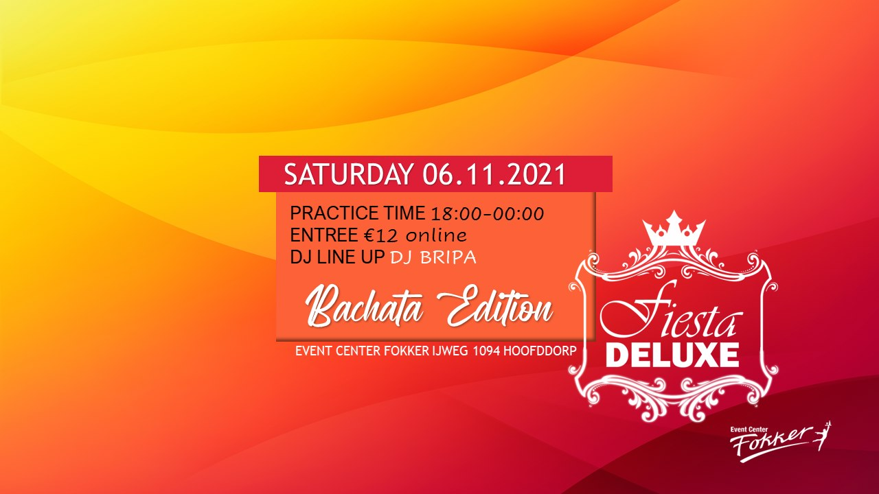 Fiesta Deluxe Bachata Practice Edition